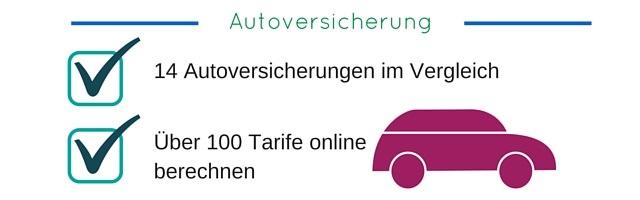 Autoversicherung Vergleichsrechner