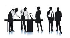 Ausübung einer Bürotätigkeit